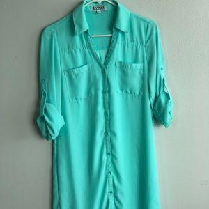 🌟 Express Portfino Shirt Dress